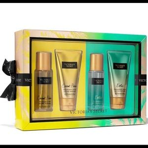 Victoria Secret Coconut Passion & Exotic Gift Set